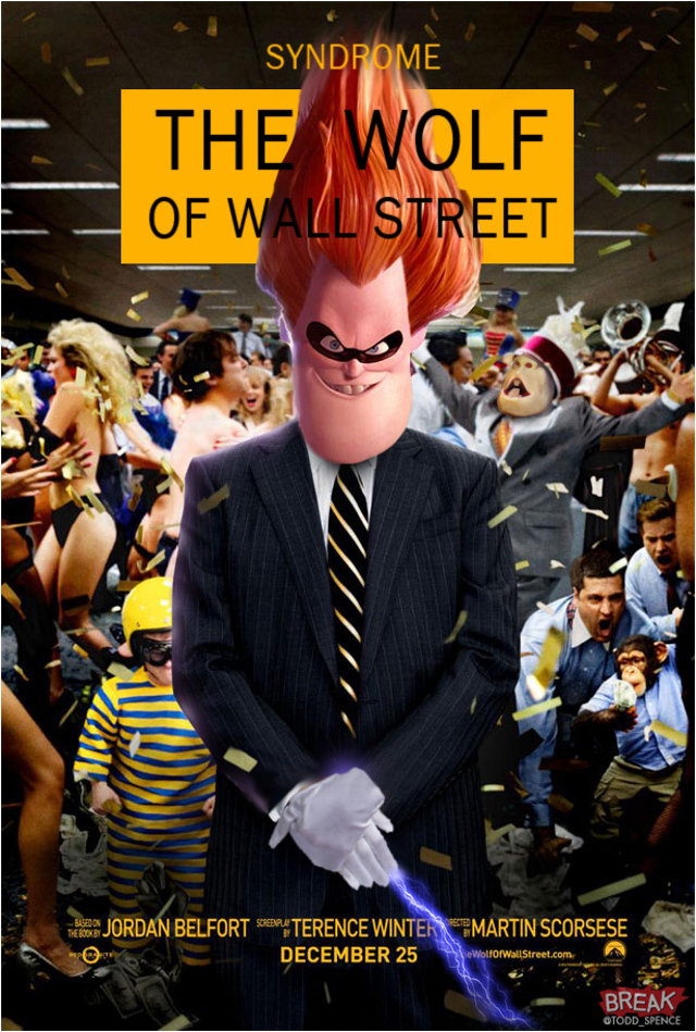 The Wolf of Wall pixar