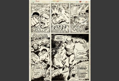 """Wolverine apareció por primera vez en la edición 150 del cómic de Marvel """"El increíble Hulk"""""""