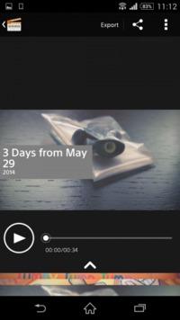 Xperia Z2-Movie Creator-2