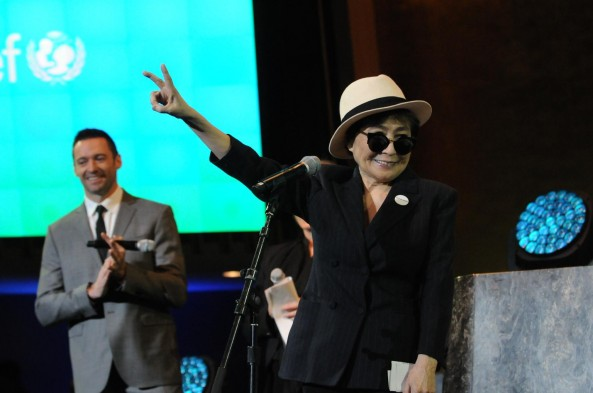Yoko Ono, Unicef,#IMAGINE,