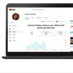 YouTube desarrolló una nueva plataforma de analíticas para los canales oficiales de artistas