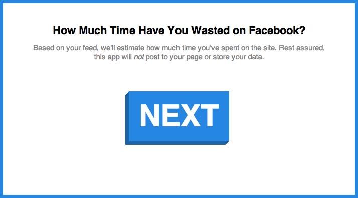 calculadora tiempo gastado facebook