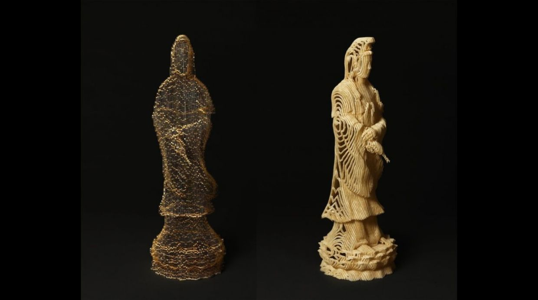 El bodhisattva Guan Yin. Se llama bodhisattva a aquellos que se han embarcado en el camino de Buda de manera significativa