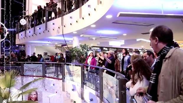 flashmob navideño