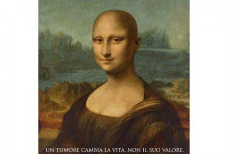 versión calva de la Mona Lisa