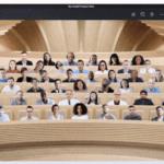 Microsoft Teams recibirá próximamente nuevas escenas que simulan auditorios, salas de conferencias o una cafetería