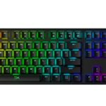 HyperX presenta el Origins Mechanical Gaming Keyboard con interruptores mecánicos HyperX Blue