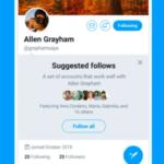 Twitter está probando permitir añadir instantáneamente todas las cuentas con un solo toque y eliminar fácilmente las que no quieres seguir