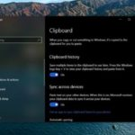 Microsoft trabaja en una nueva característica para copiar y pegar los contenidos del portapapeles en Windows 10