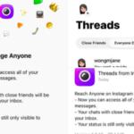 Instagram actualizó Threads y ahora permitirá mensajes con cualquiera