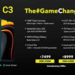 Xiaomi lanzó el POCO C3 con Helio G35, batería de 5.000mAh y cámaras triples
