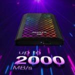 ADATA anuncia la unidad de estado sólido externo SE900G RGB