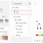 Samsung Notes ahora facilita la organización de carpetas y la gestión de notas