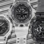 G-SHOCK presentó una nueva serie de relojes semitransparentes