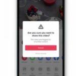 """TikTok invita a los usuarios a pensarlo cuidadosamente antes de compartir publicaciones etiquetadas como """"sin fundamento"""""""