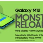 Samsung presentó en la India el Galaxy M12