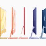 El nuevo iMac tiene un diseño mucho más compacto, variedad de colores, delgado y habilitado por el chip M1