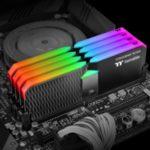 Thermaltake presentó la línea TOUGHRAM XG RGB de kits de memoria DDR4