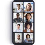 Google Meet ha comenzado a implementar la vista de iconos en aplicaciones móviles