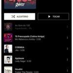 YouTube Music comienza a probar la nueva lista de reproducción de Library Tracks