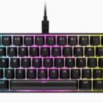 Corsair lanzó el teclado de juego mecánico K65 RGB MINIy gama de completa de kits Corsair PBT DOUBLE-SHOT PRO Keycap Mod