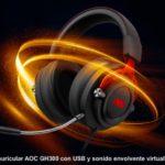 AOC anuncia una nueva categoría de productos con los auriculares gaming GH200 y GH300