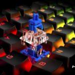 HyperX añade interruptores mecánicos HyperX Blue al teclado de juego Alloy Origins Core