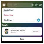 """Snapchat trabaja en la nueva función """"Remix"""" para Snaps"""