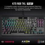 CORSAIR presentó el teclado mecánico K70 RGB TKL y los ratones SABRE RGB PRO y SABRE PRO para el sector gaming