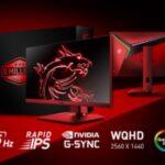 MSI vende su monitor gaming número 3 millones en 3 años y celebra lanzando el MSI Optix MAG274QRF-QD de edición limitada