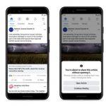 Facebook prueba una nueva herramienta que pide a los usuarios que lean los enlaces antes de compartir