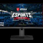 MSI lanzó el monitor Optix MAG301RF