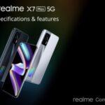 El OPPO Realme X7 Max 5G y el Realme Smart TV 4K fueron presentados oficialmente