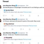 Twitter trabaja en tres etiquetas de advertencia de desinformación