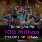 DisneyMusicVEVO alcanza los 25 millones de suscriptores en YouTube y tiene más de 18 mil millones de reproducciones