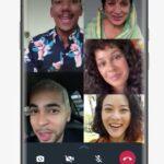 Actualización de llamada grupal en WhatsApp
