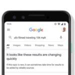 La Búsqueda de Google agrega un aviso de «resultados en rápida evolución»