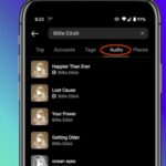Instagram tiene pestaña «Audio» en sus opciones de búsqueda