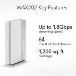NETGEAR amplía su liderazgo en WiFi 6 con nuevos puntos de acceso de escritorio WAX202 y WAX206