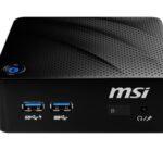MSI anuncia la mini PC Cubi N con tecnología Intel «Jasper Lake»