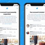 Twitter está probando notificaciones que avisen cuando las cuentas están suspendidas o bloqueadas
