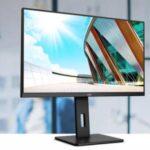 AOC amplía su línea profesional P2 de monitores con cuatro pantallas profesionales QHD y 4K con conectividad inteligente USB-C